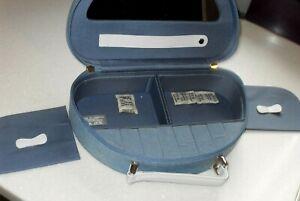 Genuine Christian Dior Parfums Beauty Jewellery Travel Case Bag in Denim