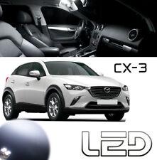 Mazda CX-3 CX3 Kit 7 Ampoules LED Blanc intérieur Plafonnier Miroirs Coffre