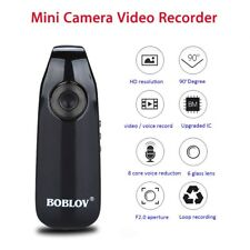 BOBLOV 1080P Mini Security Camera Video Camcorder Loop Recorder For Police Body