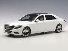 MERCEDES MAYBACH KLASSE S600 SWB WHITE AUTOART 76291 1:18