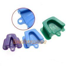 1Set Dental Mouth Prop Bite Block Cushion Opener Retractor 3pcs