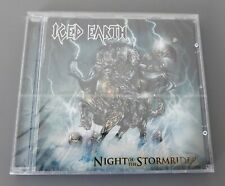 ICED EARTH CD 2002 - NIGHT OF THE STORM RIDER - BRAND NEW FACTORY SEALED - RARE