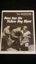rare NWA Title Flair Race vs Rhodes Graham Wrestling program 1983 WWF mulligan