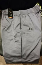 Under Armour Men's Gray Heavy Weight Warm Up Athletic Training Pants L 1250194