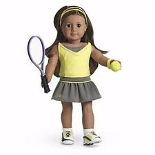 American Girl Doll Complete Tennis outfit ball racket top skirt shoes socks lot