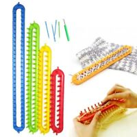 26/36/47/58cm Plastic Loom Shawl Scarf Hat Knitter Knitting Tool DIY Crafts Gift