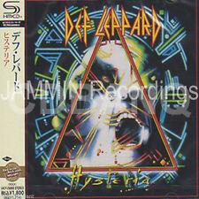 DEF LEPPARD - Hysteria  - JAPAN SHM JEWEL CASE CD