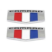 OEM NEW Front Right & Left Fender Emblem Badge Set (2) 16-17 Camaro 23184152