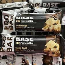 44 PROBAR Base Protein Bars Cookie Dough 20g Gluten GMO Free Pro Bar