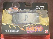 Naruto SAND HEADBAND ONE SIZE FITS ALL!