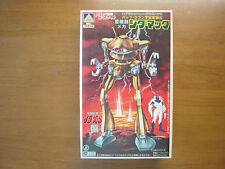 AOSHIMA Plastic Model Kit Space Runaway Ideon 1/760 Zig Mack Robot Made In Japan