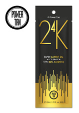 Power Tan 24K Super Carrot Oil Sunbed Tanning Accelerator Lotion 20ml