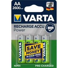 4 x Varta 5716 Lithium Ion Battery Ni-Mh Mignon Aa New Power 2600 Mah