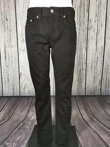 Men's True Religion Jeans Ricky Straight Fit 30 - 38 Waist 34 Inside Leg Black