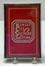1989 Mint Deck of Kansas City Southern Railroad Playing Cards