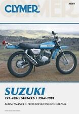 NEW Clymer - M369 - Repair Manual SUZUKI TM TC TS FREE SHIP
