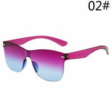 UK Women Sunglasses Frameless Candy Colors Gradient Lens Sun Glasses Lady HOT