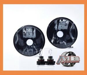 2008 2009 Pontiac G8 Fog Lights Smoked Lens OEM Replacement