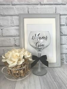 Personalised Gin Glass - Any Name - Birthday Gift 18th 21st 30th 40th 50th