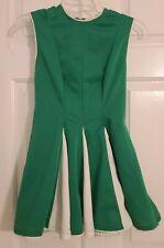 Vintage Cheerleader Uniform 70's Green And White