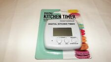 DIGITAL KITCHEN TIMER BEEPING ALARM WITH MAGNETIC BACK