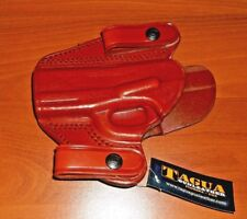 Tagua Gun Holster Left Hand Brown Leather for RUGER P95 New No Box DSH-053 LH