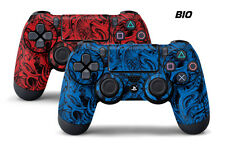 Dual Skin Sticker Wraps 2 Pack PS4 Playstation 4 Remote Controller Decals BIO