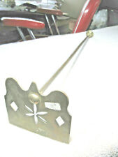 Vintage Brass Fireplace fancy one Tool has cut out all brass not sure