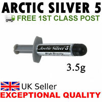 3.5g Arctic Silver 5 Thermal Compund Paste Grease CPU Heatsink AMD & INTEL CPUs