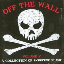 Vans: Off The Wall Volume V 5 PROMO Music CD collection punk rock skater w/ Art!