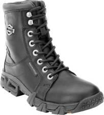 87054 Harley-Davidson Women's Elaine Waterproof Black Motorcycle Boots Size 8