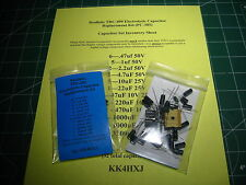 Realistic TRC-490 - VALUE - Electrolytic Capacitor Kit (PC-385)
