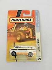 2007 Matchbox White Chevy Van #49 City Services SEALED