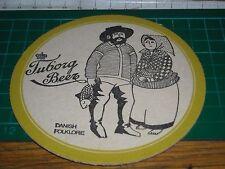 sottobicchiere beer mats birra bierdeckel tuborg beer danish folklore