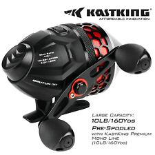 KastKing Brutus High Speed Spincast Fishing Reel + 10lb/130yds Monofilament Line