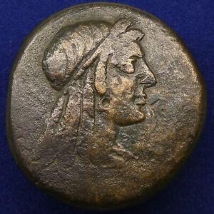PTOLEMAIC KINGS of EGYPT. Ptolemy VIII;  145-116 BC. AE Bronze Alexandria mint