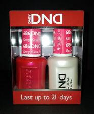 DND Daisy Soak Off Gel Polish Sexy Kiss 686 LED/UV 15ml gel duo NEW