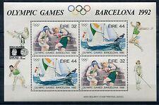 Ireland 1997 Scott 855B, Columbian Overprint on Olympics Sheet, Scarce!, NH