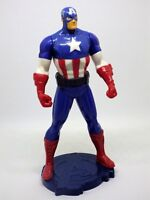 Figurine captain américa sur socle Marvel 2014 articulée 13 cm  figure