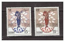 s22677) .SU DAN. MNH** 1960 International year of refugees 2v