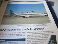 Airlines Archiv Griechenland Olympic Airlines und das Orakel von Delphi 6 S