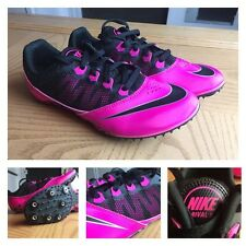 NIKE Zoom Rival S 7 Sprint Women's Pink/Black Track Racing - Size 7