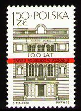 Poland 1976 Sc2173Mi2459 1v mnh Polish Theater in Poznan, cent.