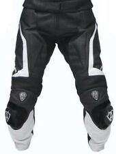RIDER MOTORCYCLE PANT MEN LEATHER TROUSER MOTORBIKE RACING LEATHER TROUSER S-XL