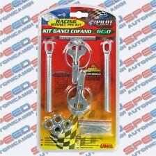Kit Ganci Cofano da Competizione Lampa - Pilot Racing Bonnet Pin Kit