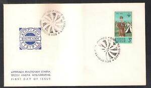 CYPRUS 1976 SCOUTS GIRL GUIDES SCOUTING THINKING DAY NICE SPECIAL CANCEL COVER B