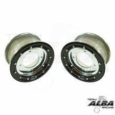 YFZ 450 YFZ 450R  Front Wheels  Beadlock 10x5  4+1  4/156  Alba Racing  P Black