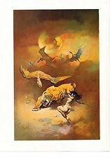 "1978 full Color Plate /""Fire Demon/"" by Frank Frazetta Fantastic  GGA"