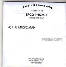 (CH315) Ergo Phizmiz, The Music Man - 2011 DJ CD