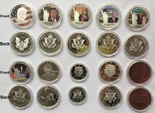 10pcs Donald Trump Eagle Coin Make America GREAT US 45th President Liberty 2017